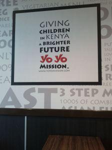 The Yo Yo Mission.